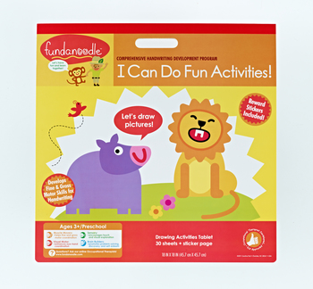 I Can Do Fun Activities Floor Pad from Fundanoodle